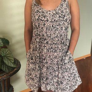 Club Monaco Women's Gray Mari Print Dress